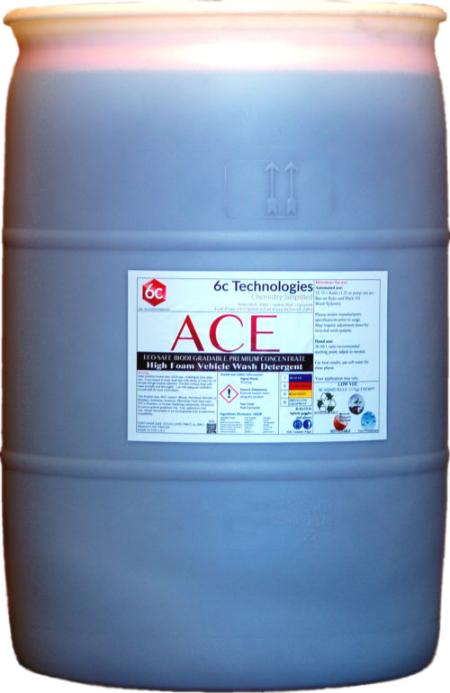 ACE 55 gallon drum